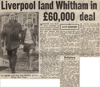 Liverpool land Whitham in a £60,000 deal