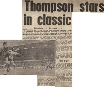 Thompson stars in classic- 10 October 1970