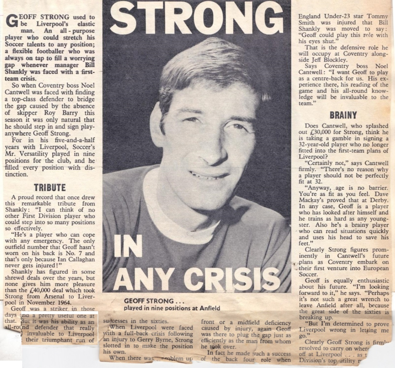 Strong in any crisis - 1970/71 season