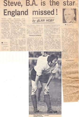 Heighway the catch of the 1970/71 season