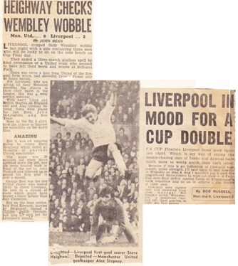 Heighway checks Wembley wobble - 19 April 1971