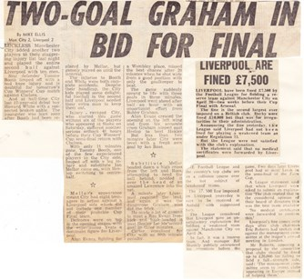 Two-goal Graham in bid for final - 26 April 1971