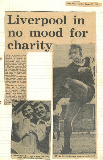 Liverpool in no mood for charity!