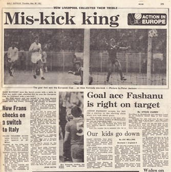 The mis-king king! - May 1981