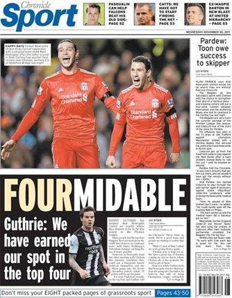 Chronicle Backpage