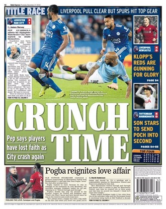Daily Express Backpage