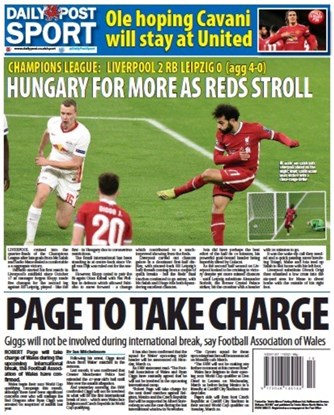 Daily Post Backpage