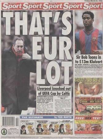 Daily Sport Backpage