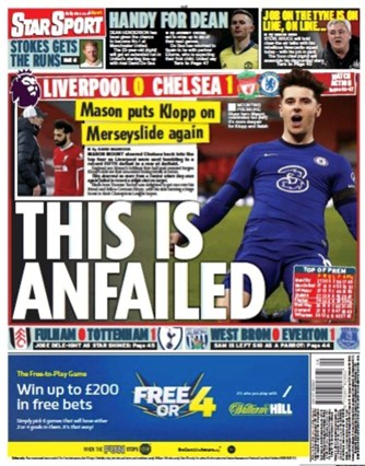 Daily Star Backpage
