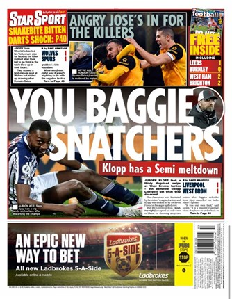 Daily Star Sport Backpage