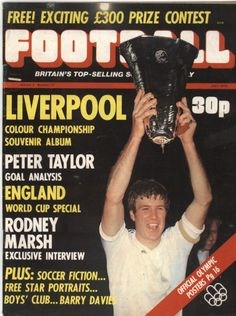 Football Magazine Cover