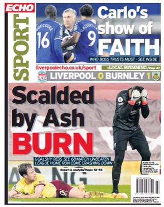 Liverpool Echo Backpage
