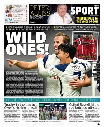 Metro Back Page