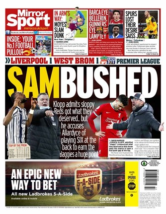 Mirror Sport Backpage
