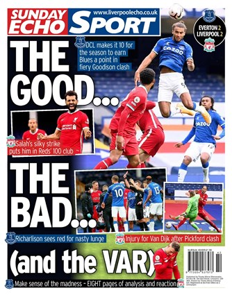 Sunday Echo Backpage
