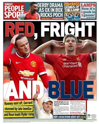 Sunday People Backpage