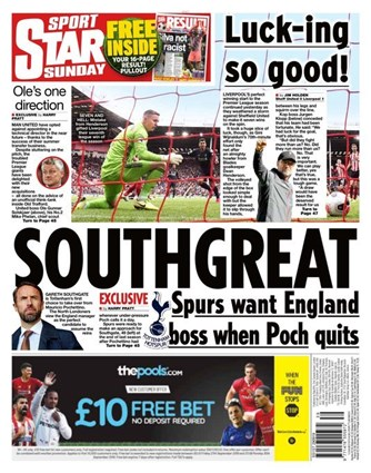 Sunday Star Backpage