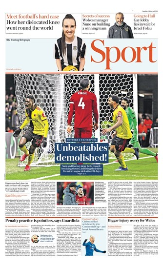 Sunday Telegraph Backpage