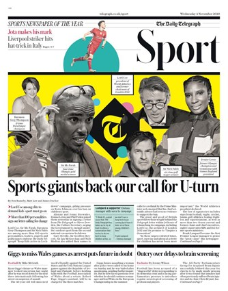 The Telegraph Backpage