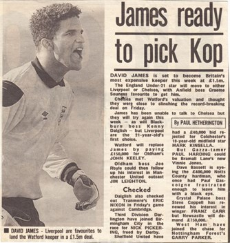 James ready to pick Kop