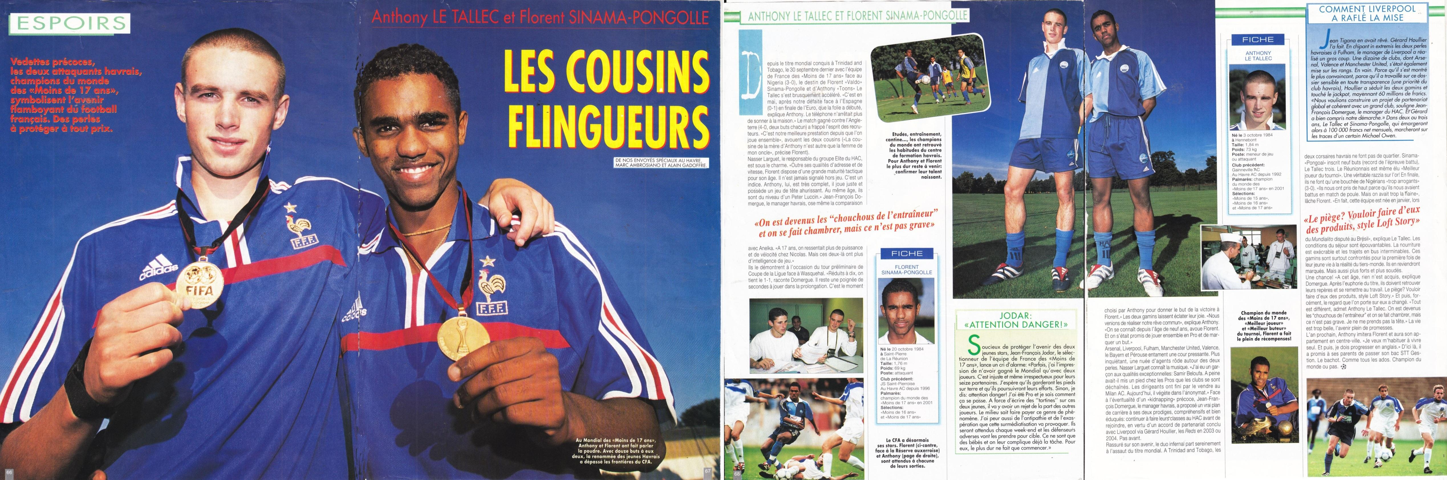 The French wonderkids