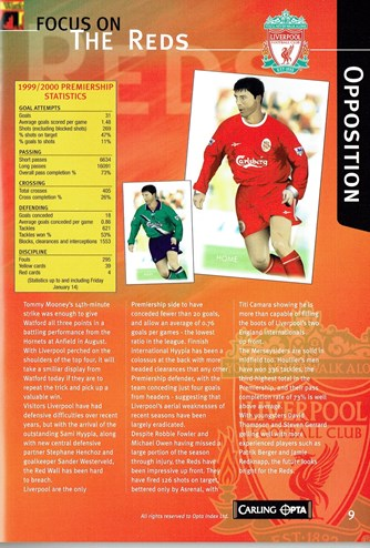 Match programme - Article (3)