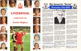 Liverpool Echo's Horace Yates recollects his most memorable Merseyside derby