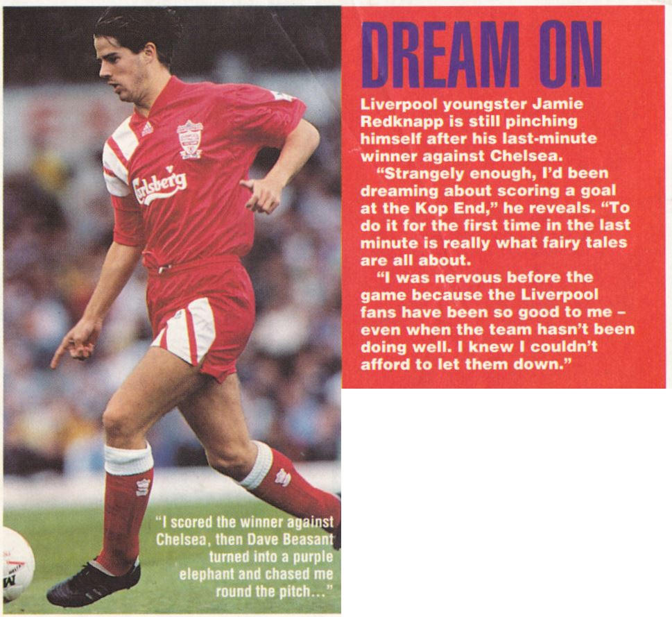 Redknapp still pinching himself - September 1992