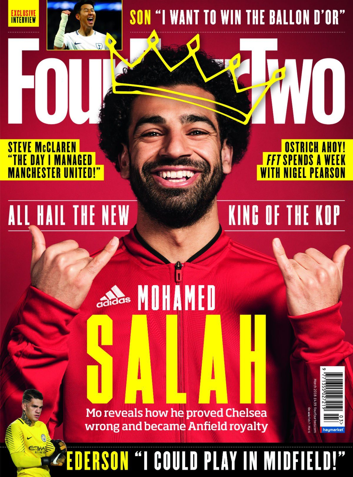 FourFourTwo - March 2018