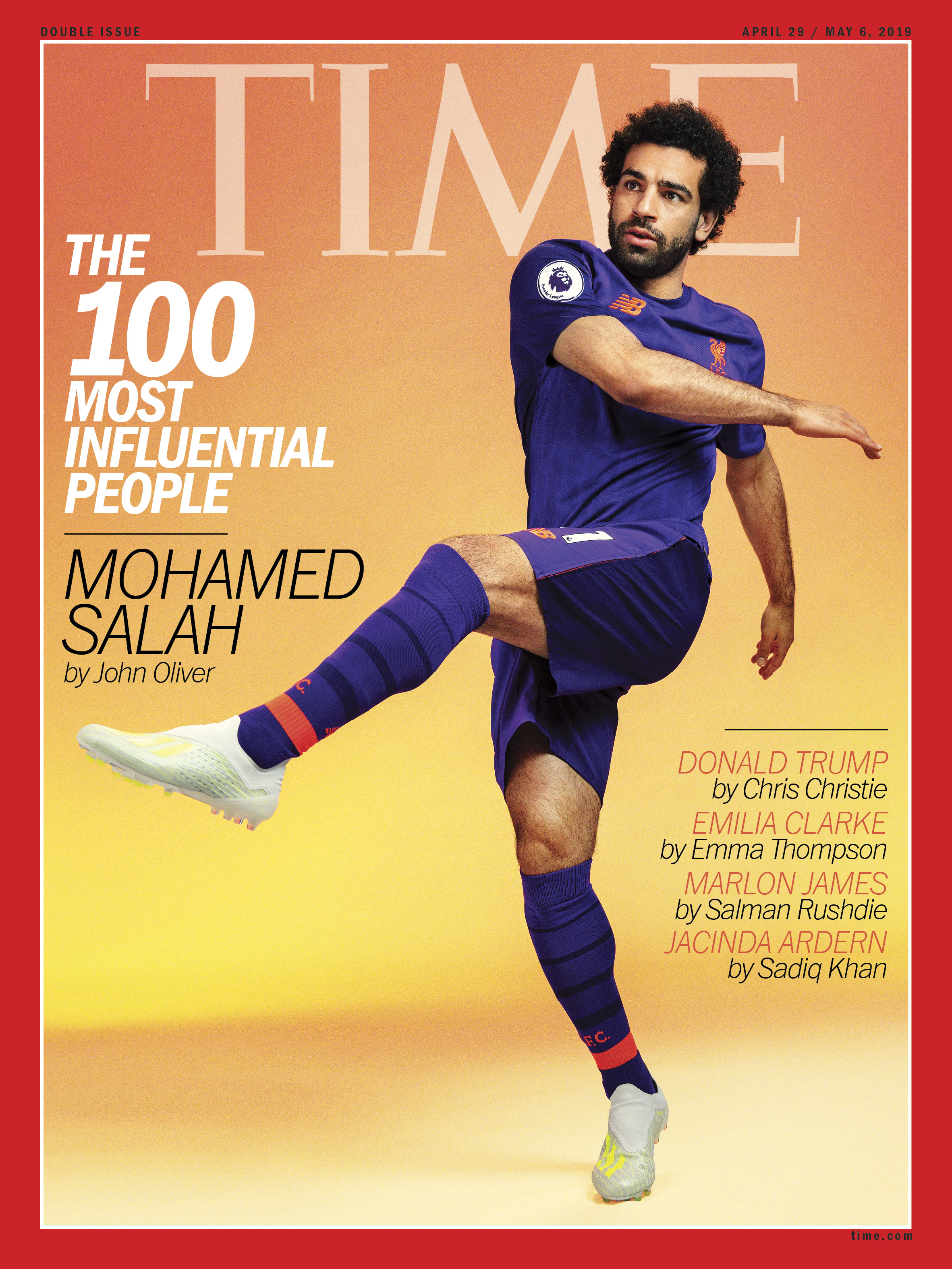 Time cover star
