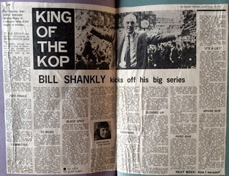 Shankly's Sunday Express series - King of the Kop
