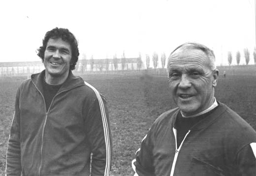Shanks helped out his former captain, Ron Yeats, when he was boss at Tranmere