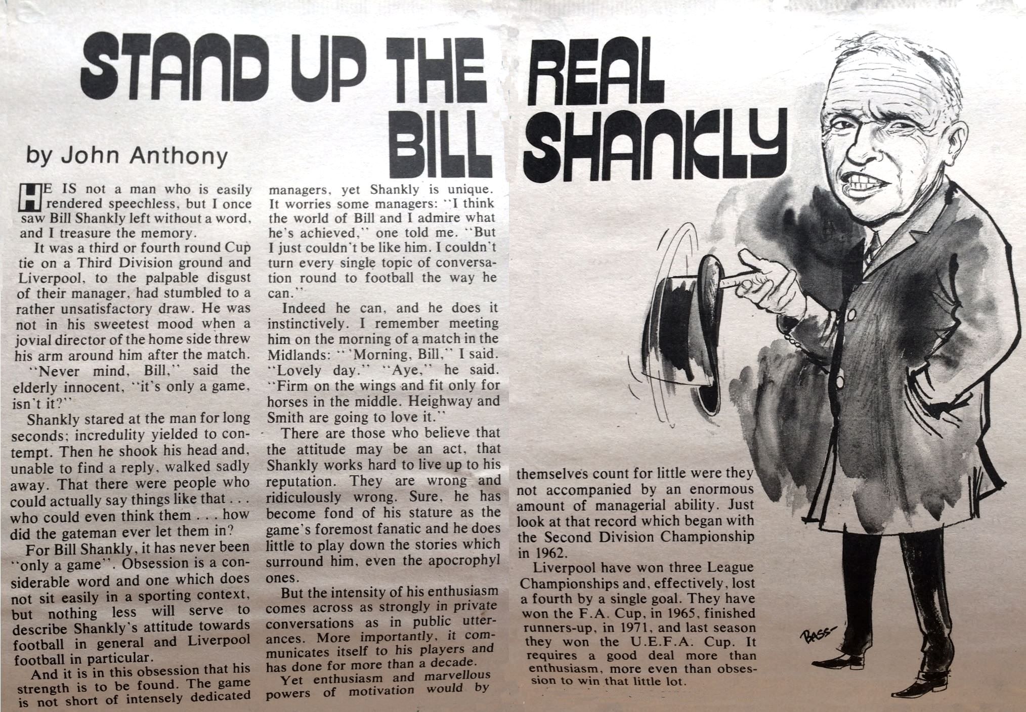 Stand up the real Bill Shankly
