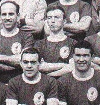 George on the official team pic with Ronnie Moran, Ian St John and Ron Yeats