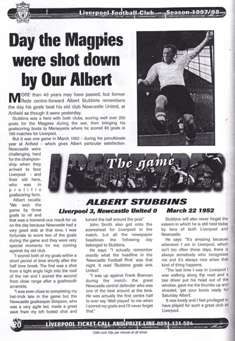 Day the Magpies were shot down by our Albert! - on 22 March 1952