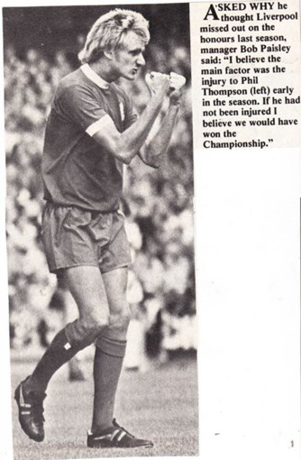 Thompson's injury a blow to title chances - 1975